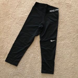 Nike Pro tights leggings Size Small